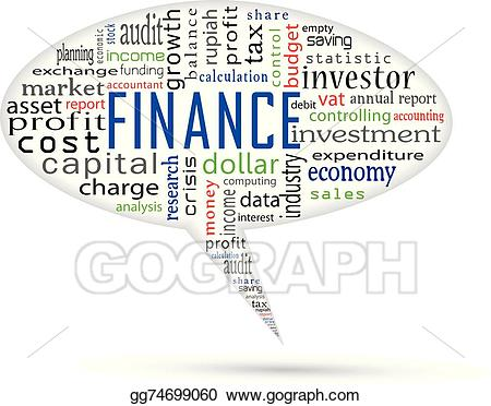 Vector art and accounting. Finance clipart finance charge