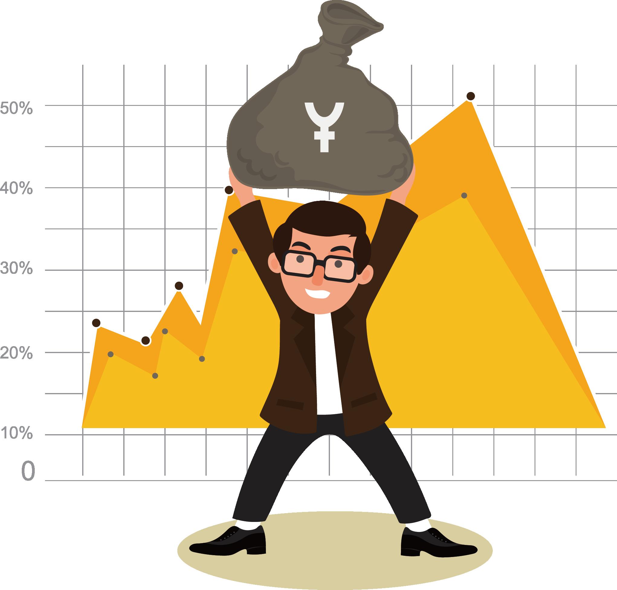 Finance clipart finance chart. Stock market financial appreciation