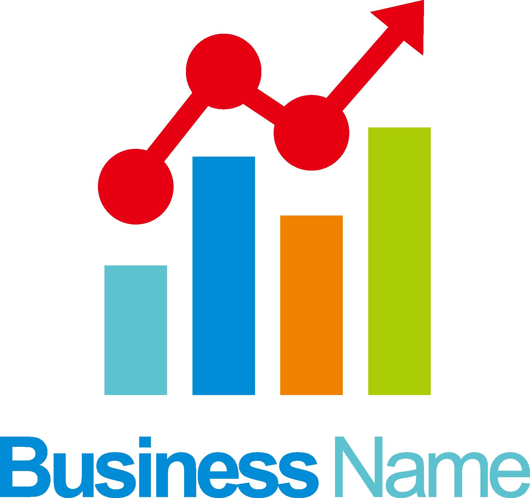 Logo column transprent png. Finance clipart finance chart