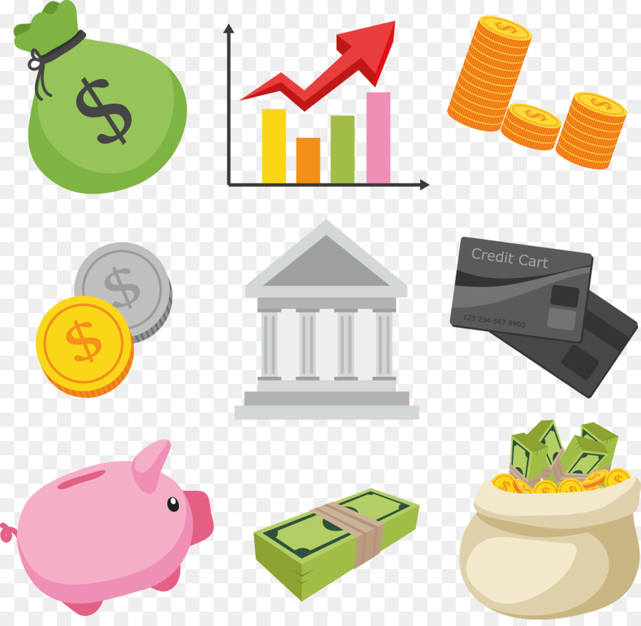 Financial clipart finance. Bank cartoon png download