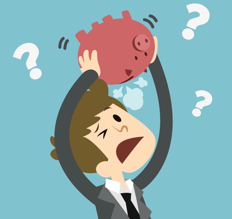 Practical money skills getting. Finance clipart financial problem