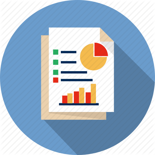 Report icon product transparent. Finance clipart financial reporting