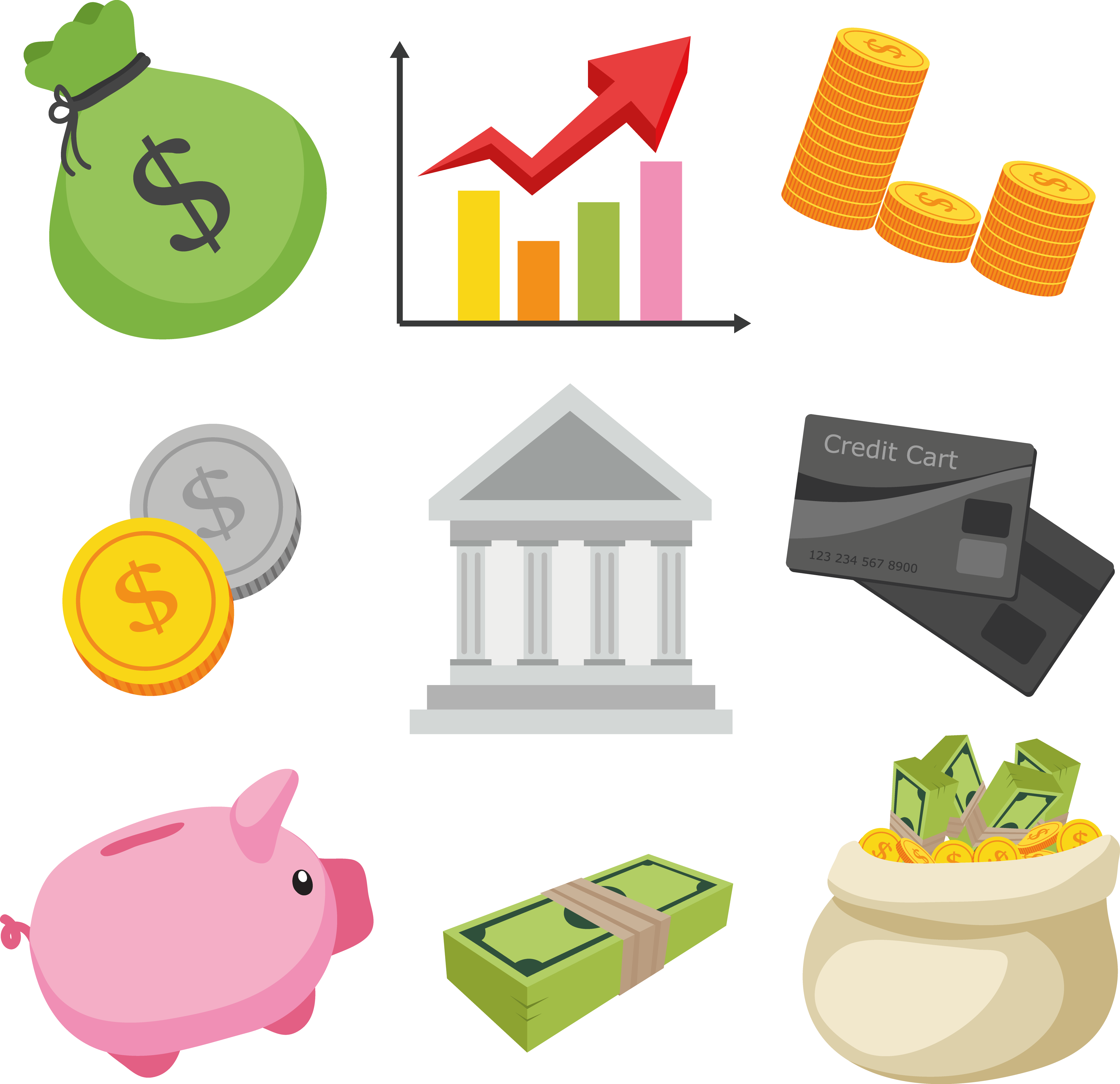 Business and translation services. Finance clipart financial security