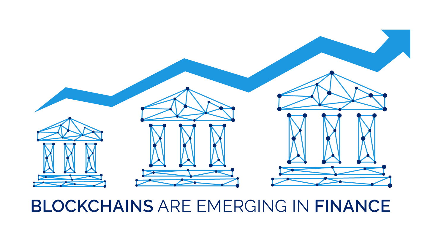 Financial clipart financial growth. Services and blockchain industry