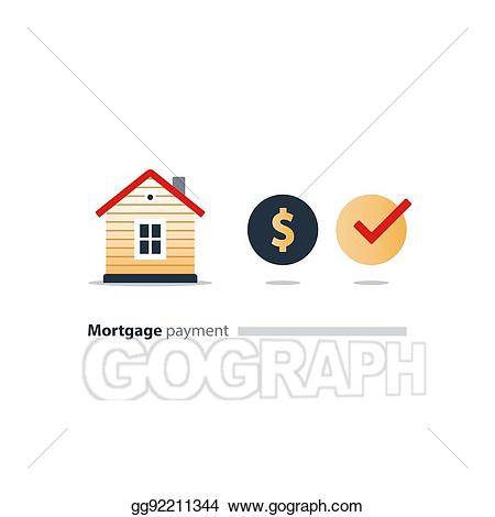 Finance clipart household income. Eps illustration house budget