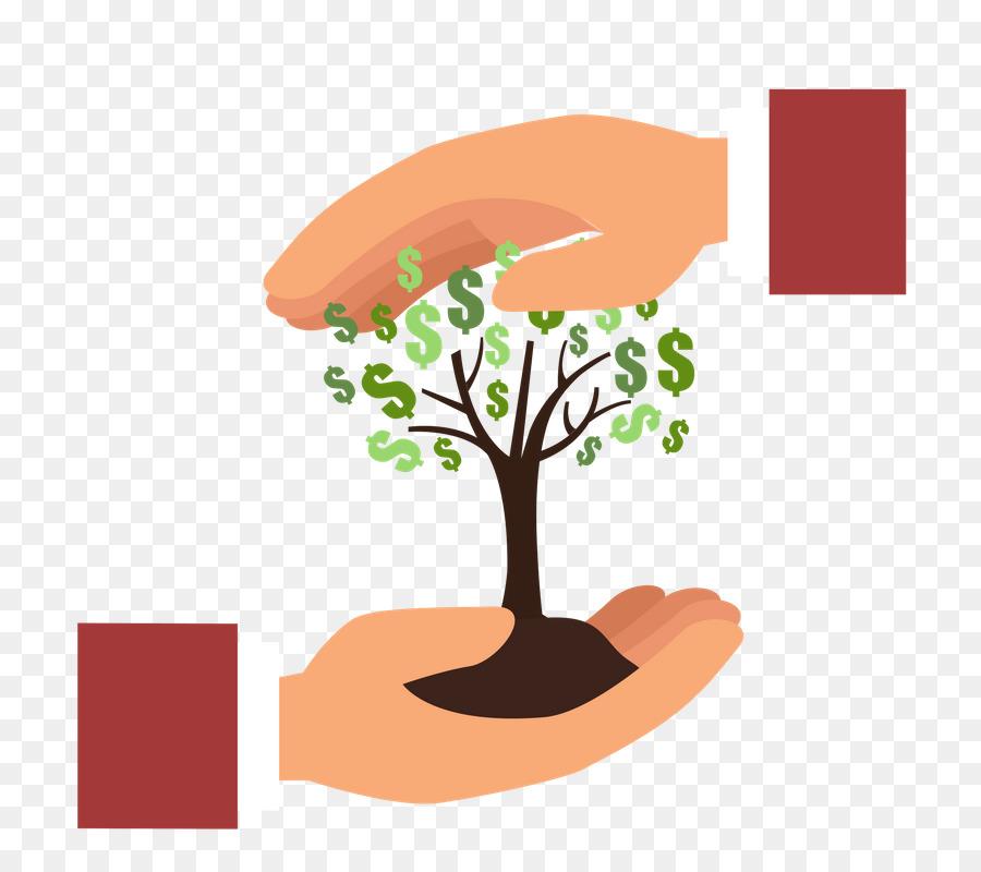 Finance clipart income. Money cartoon tree transparent