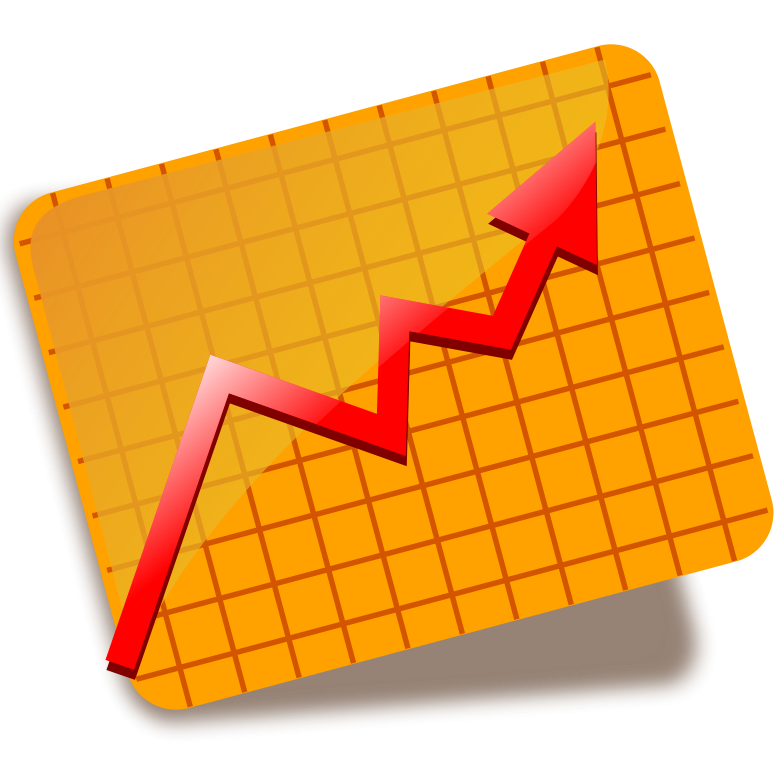 Graph clipart stock market graph.  collection of exchange