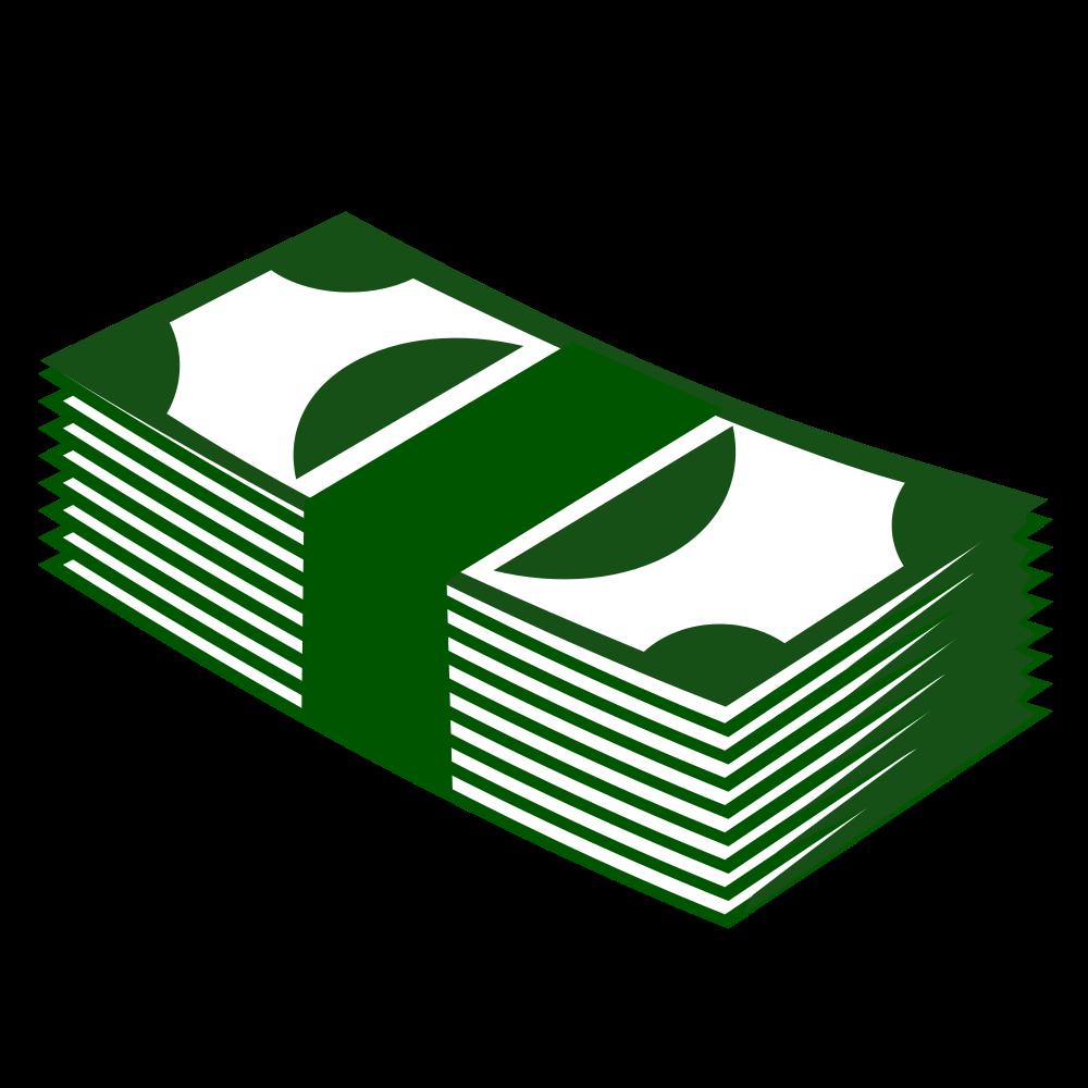 Onlinelabels clip art money. Finance clipart stack cash