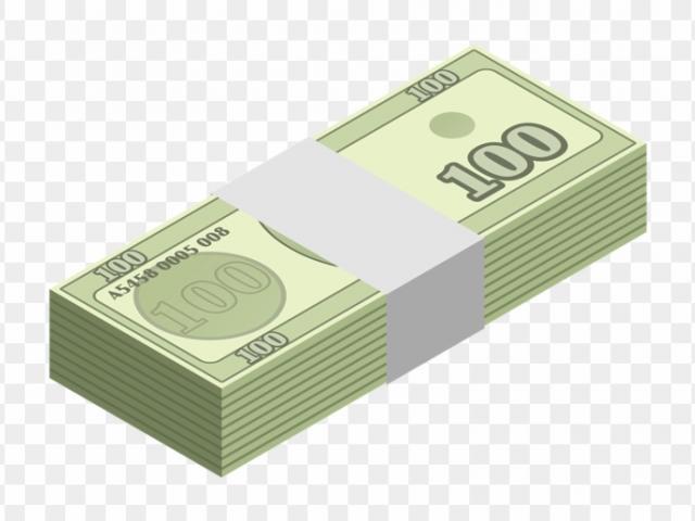 Free loan money download. Finance clipart wad cash