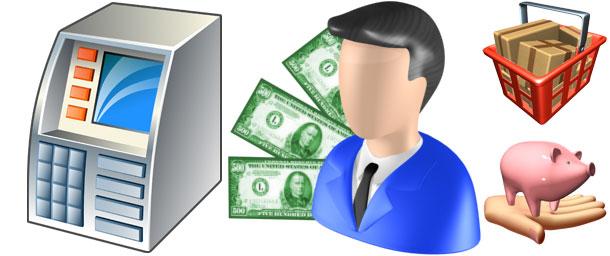 Clip art services . Financial clipart