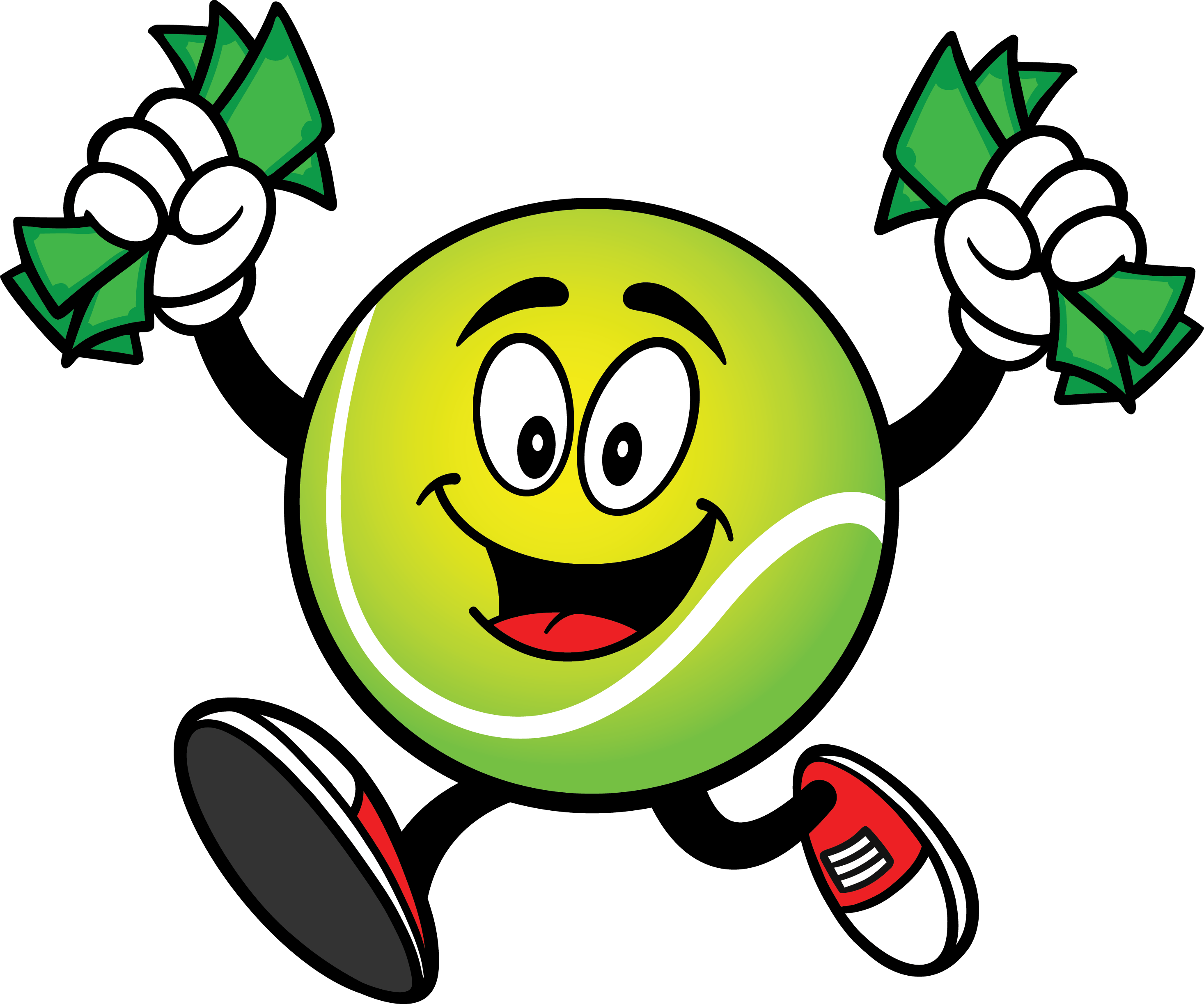 The recycleballs quicklabel program. Financial clipart financial assistance
