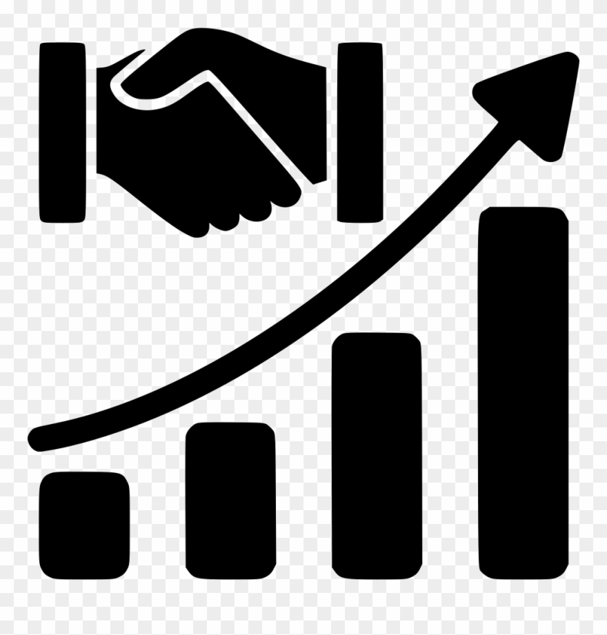Financial clipart financial growth. Icons acquisition icon