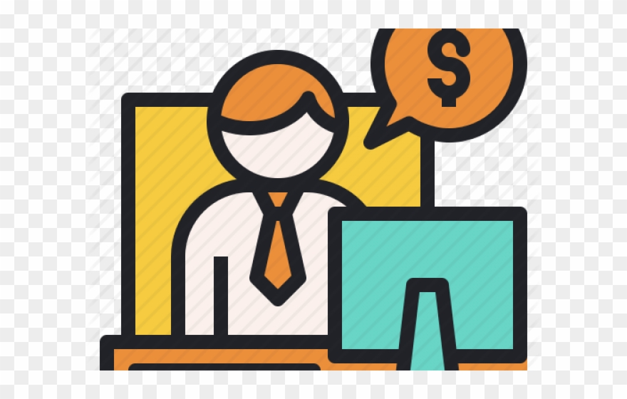 Consultant investment advisor . Financial clipart financial planner