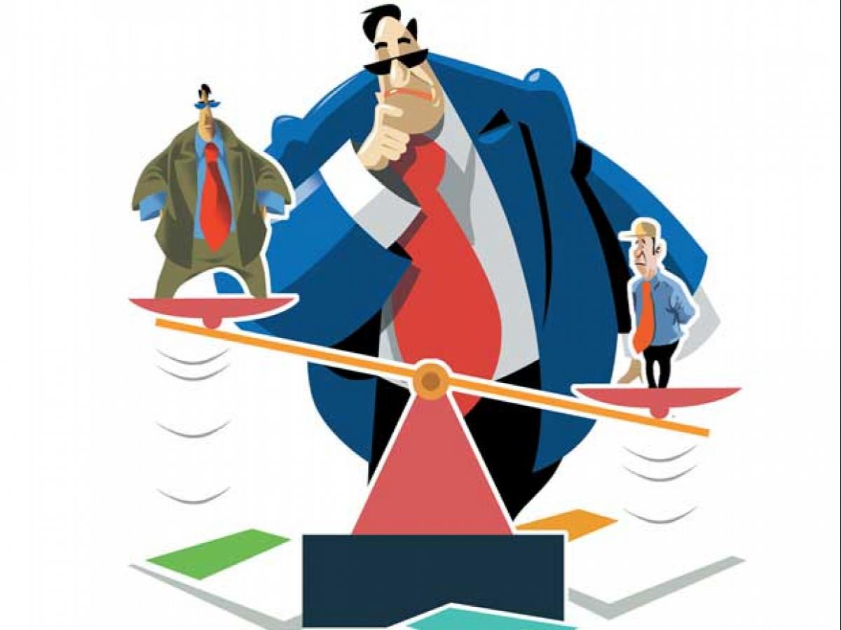 Financial clipart financial position. Corporate india s remains