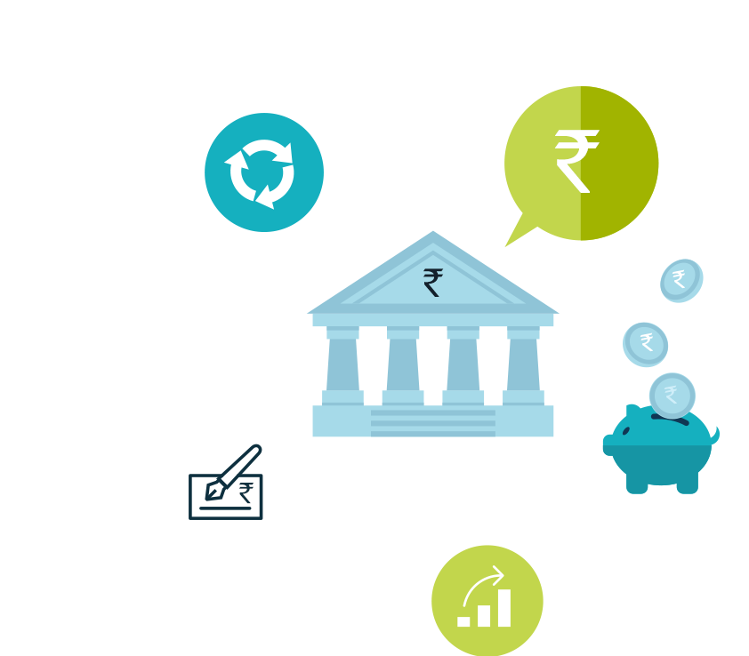 Mapmyindia location based analytics. Financial clipart financial sector