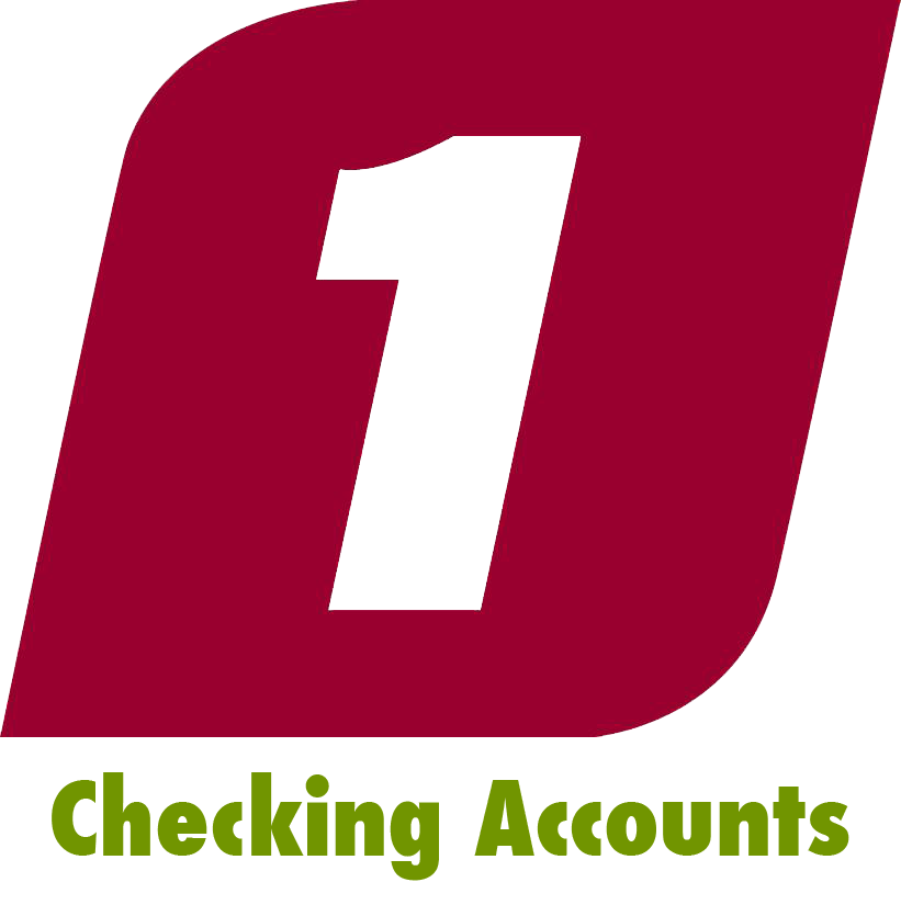 Checking accounts first federal. Financial clipart personal check
