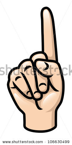 One free download best. Finger clipart 1 finger