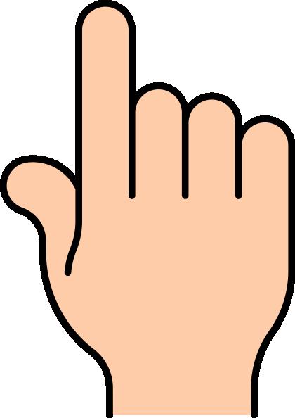 Finger clipart. Clip art at clker