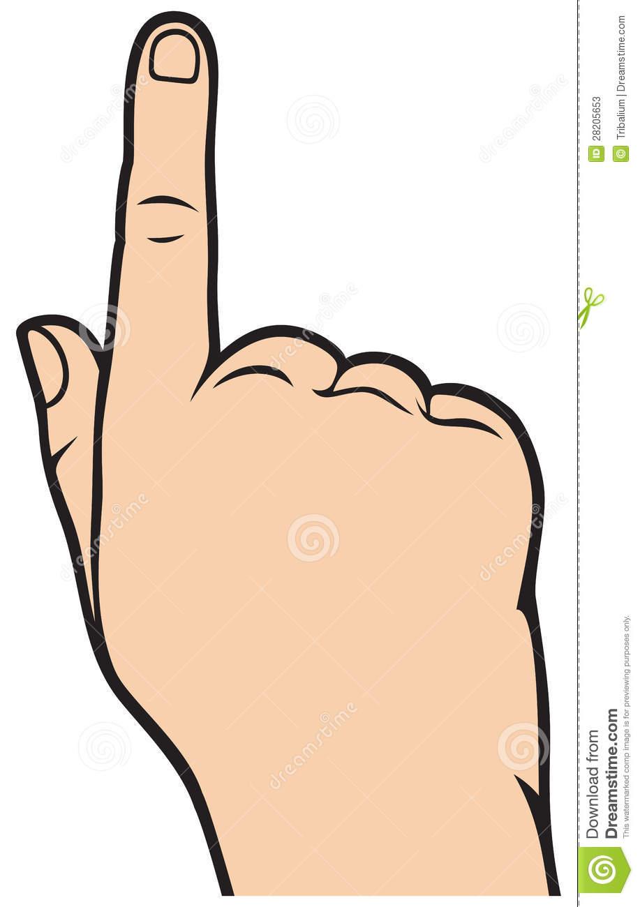 Finger clipart. Index