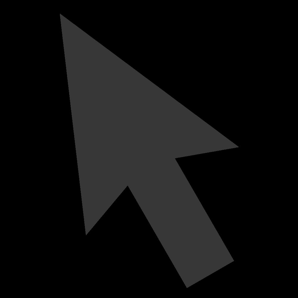 Finger clipart arrow. Cursor transparent png pictures
