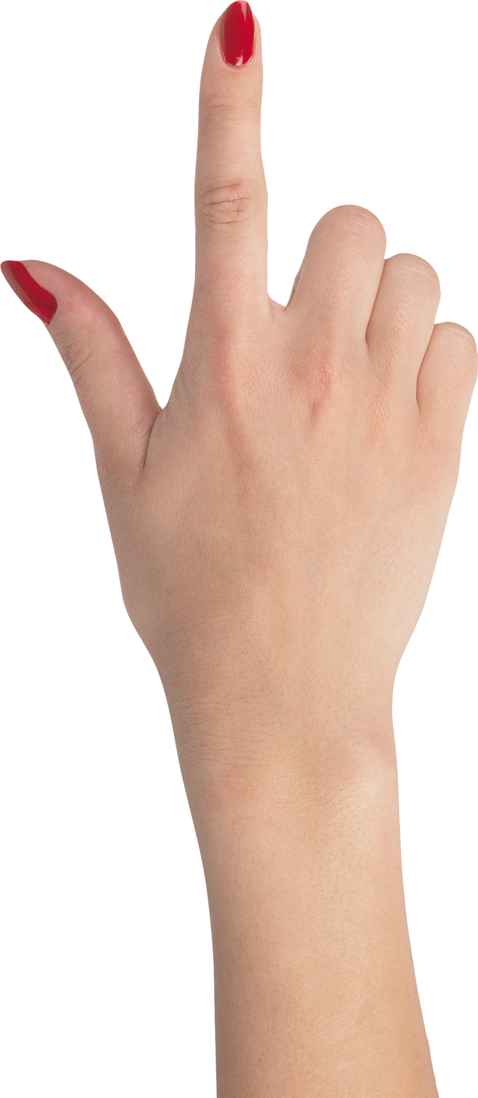 Nails clipart cute nail. Female hand pointing up