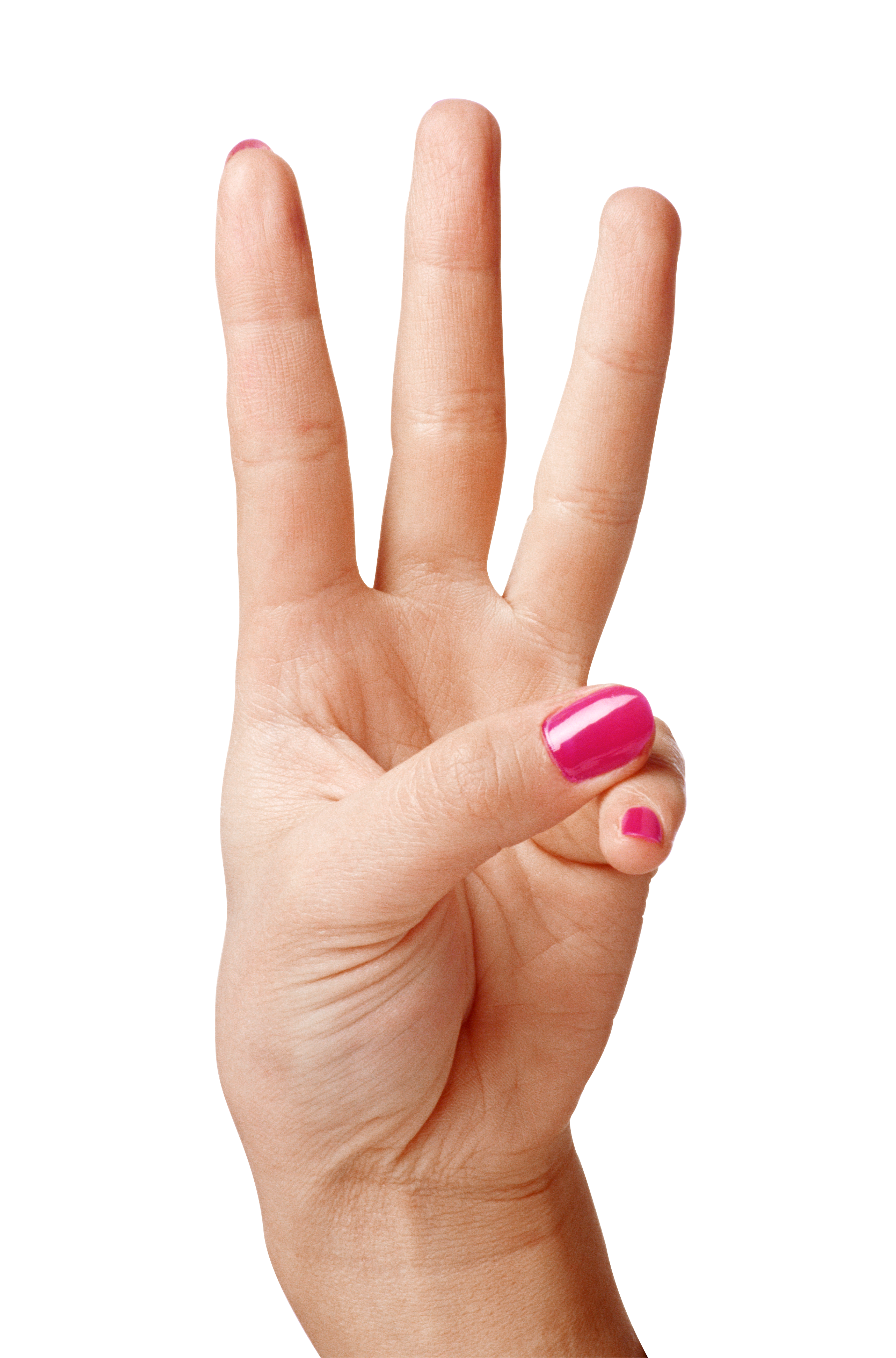 Fingers clipart brown hand. Showing three png image