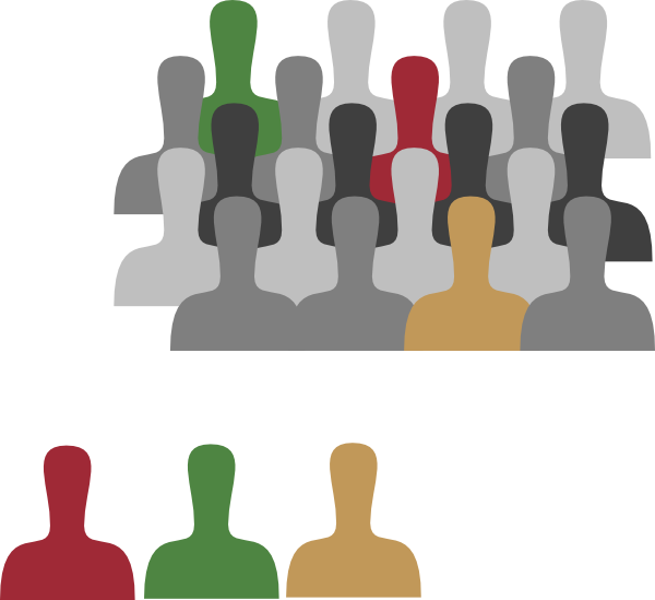 Group with color clip. Thumb clipart large