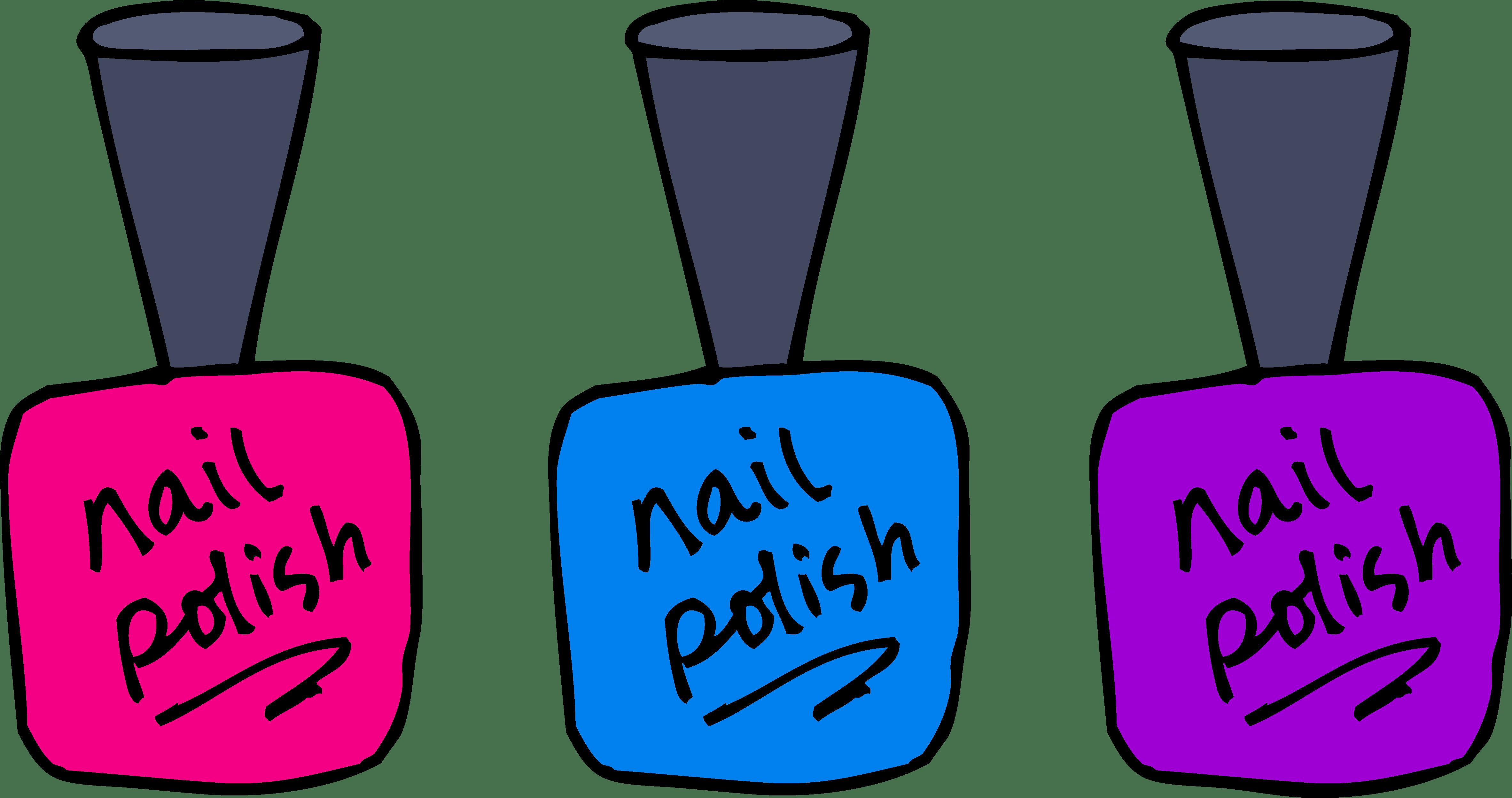 Polish clip art . Finger clipart finger nail