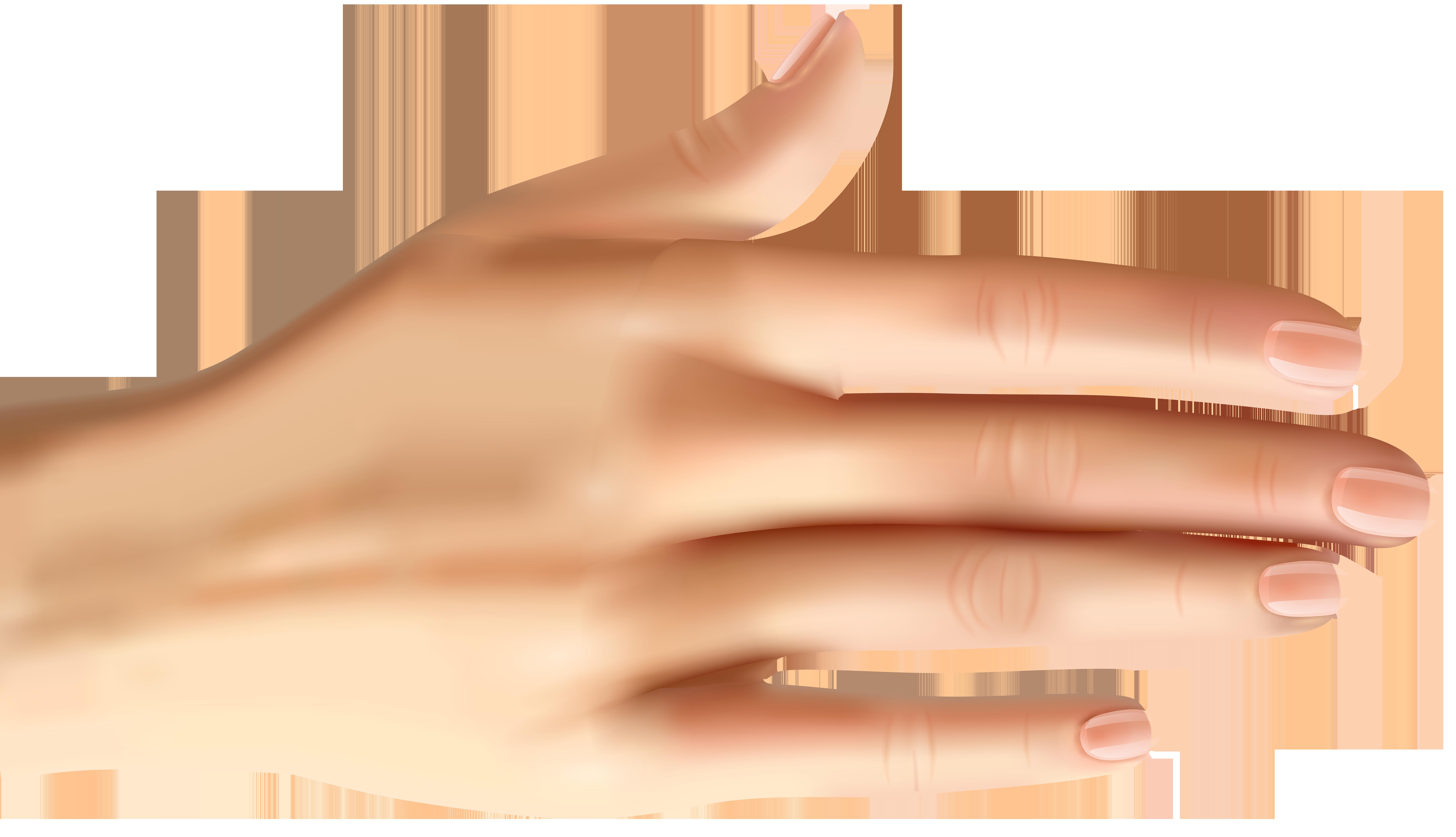Finger clipart finger nail. Hand model manicure thumb