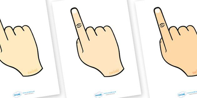 Fingers clipart finger space. Pin on elementary