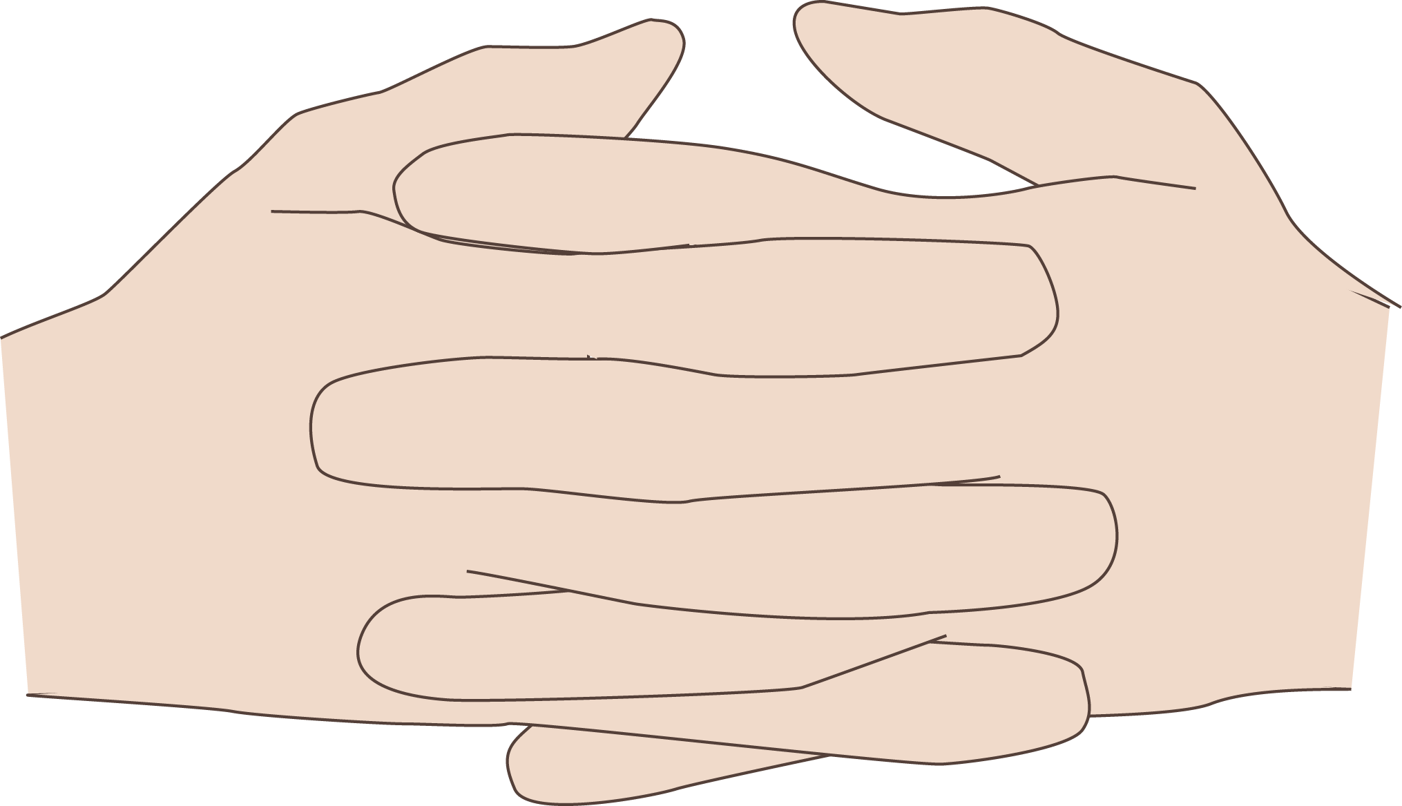 Coding manual two cup. Handshake clipart clasped hand