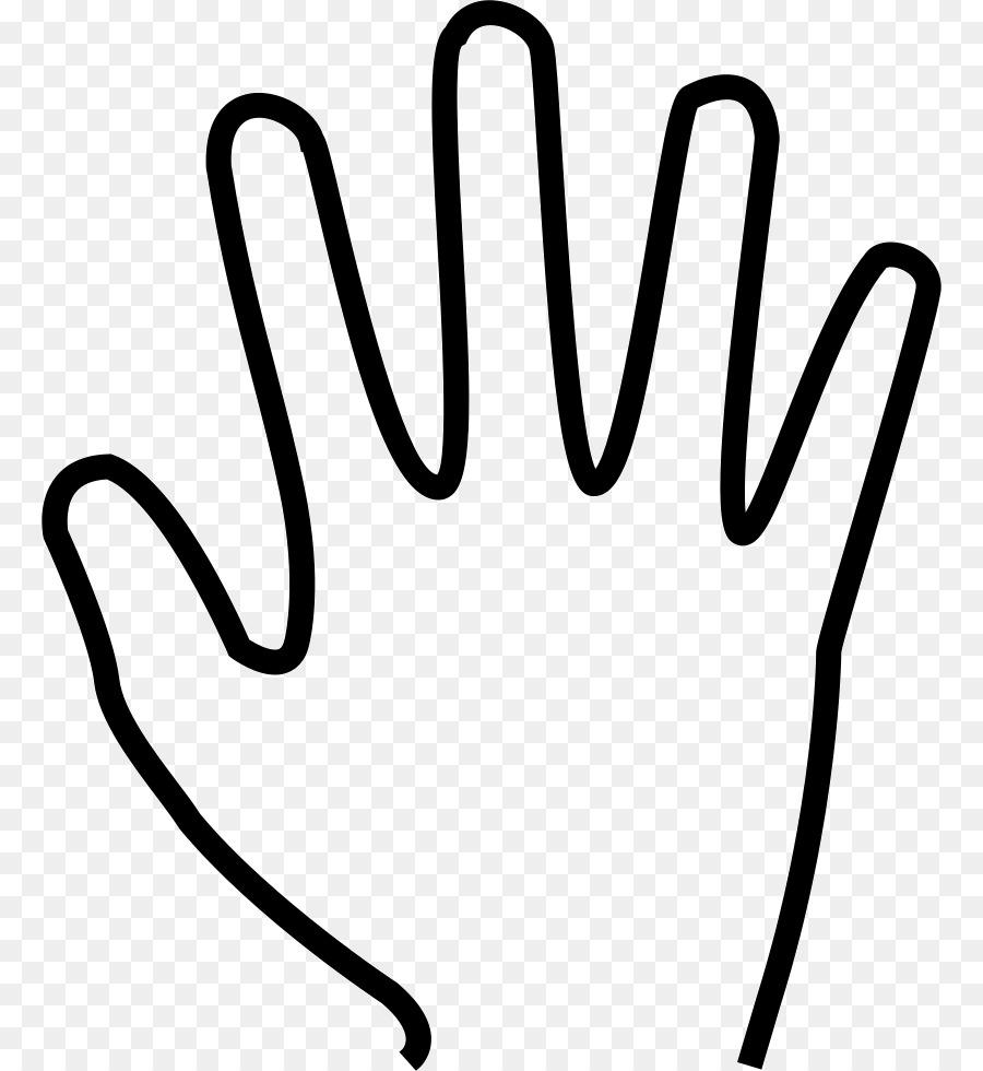 fingers clipart five finger