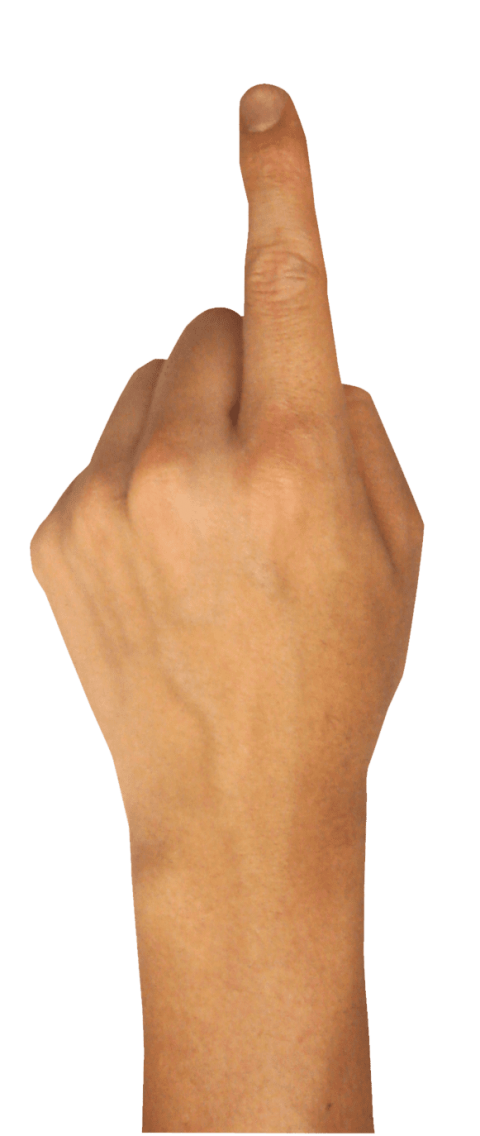 Png free images toppng. Fingers clipart four finger