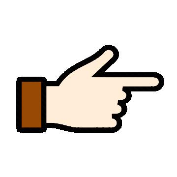 thumb clipart vector
