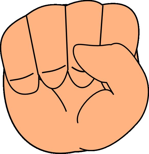Finger clipart hand foot. Closed clip art at