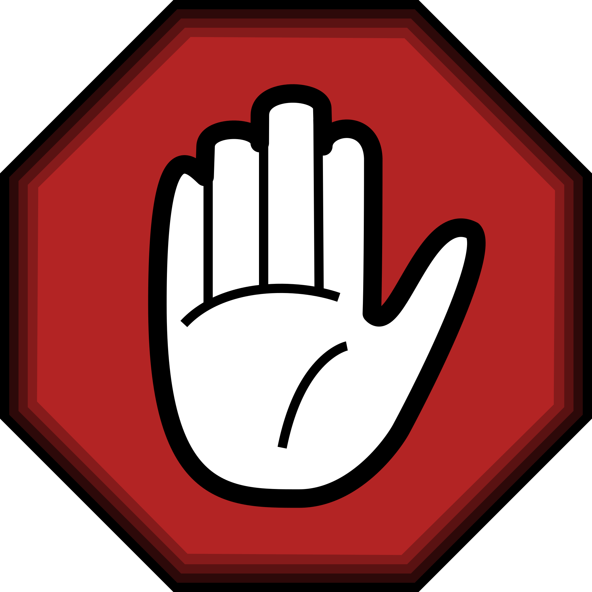 Be careful with your. Respect clipart gesture