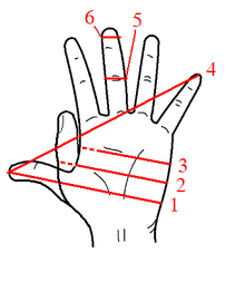 Finger clipart hand span. Unit wikipedia