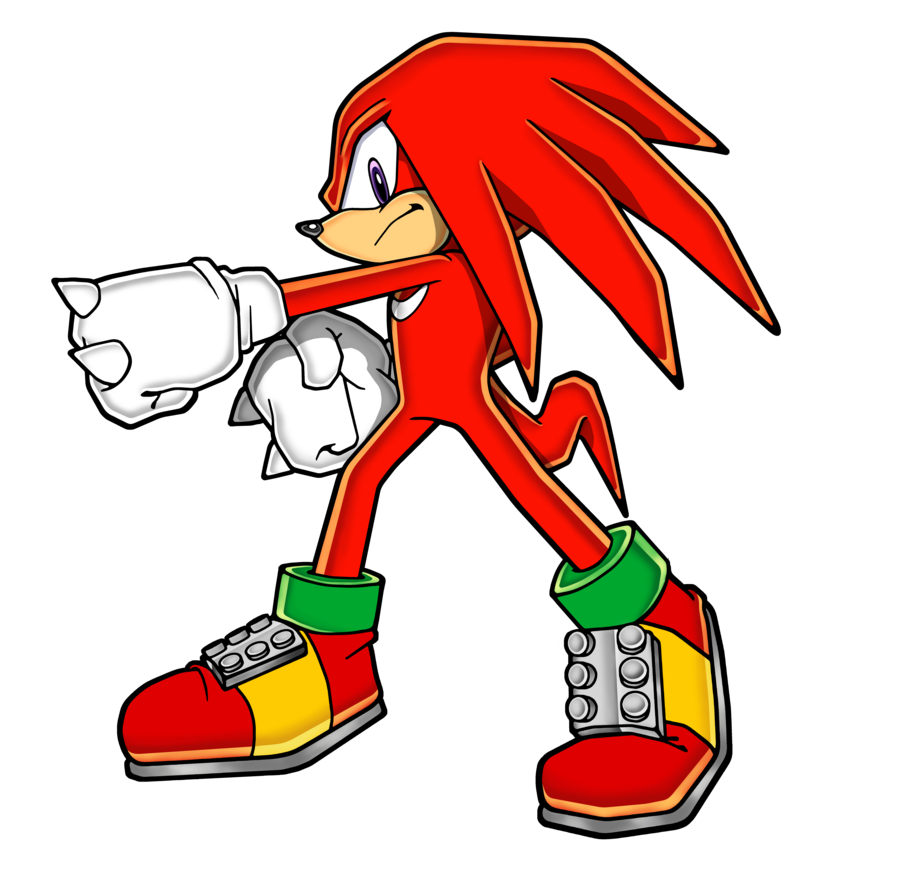 Finger clipart knuckle. Knuckles the echidna by