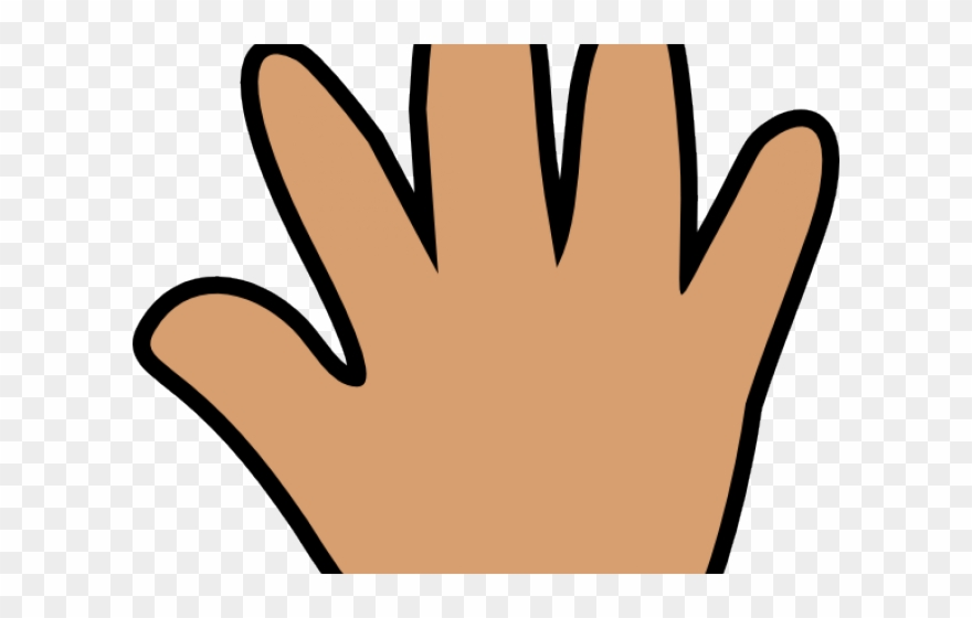 Large five png . Fingers clipart nice hand