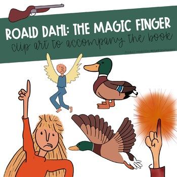 Roald dahl the by. Finger clipart magic finger