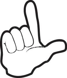 Finger clipart muddle. Top common hand symbols