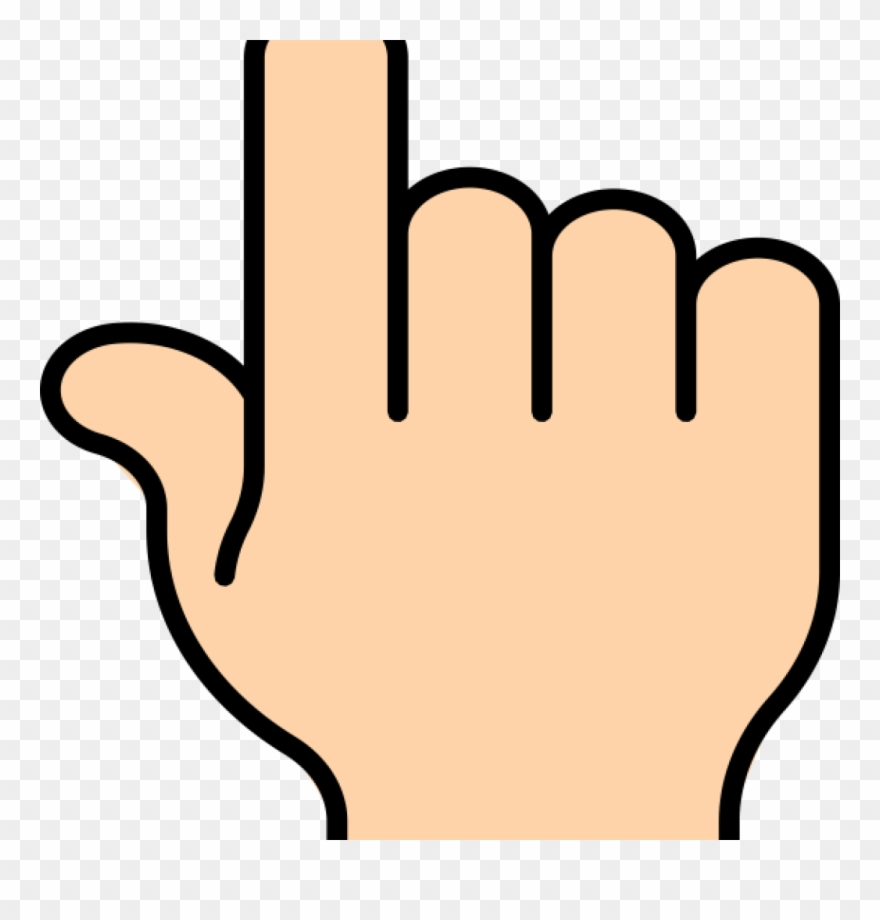 Fingers clipart pointy. Finger point clip art
