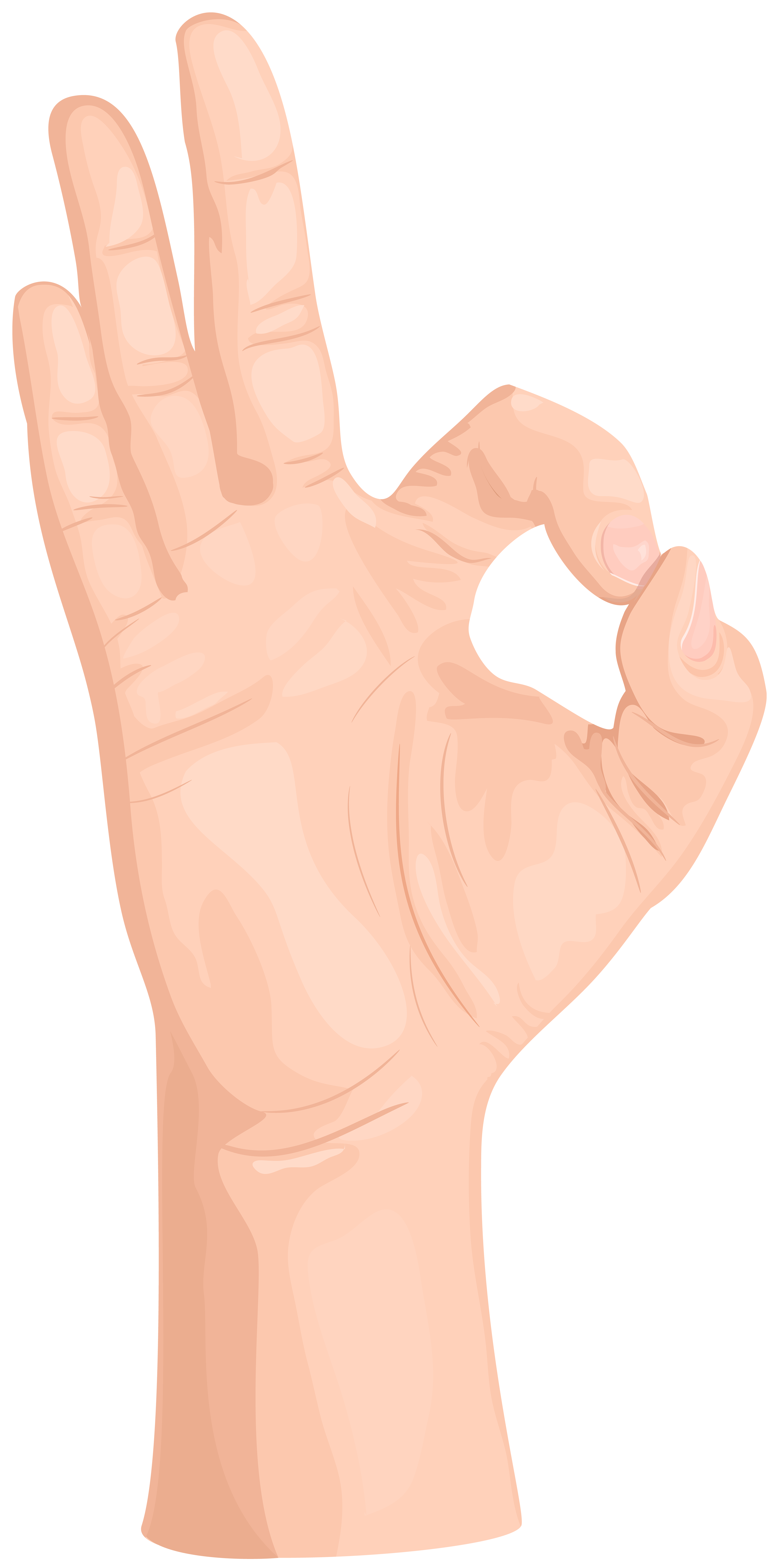Fingers clipart okay. Ok hand gesture transparent