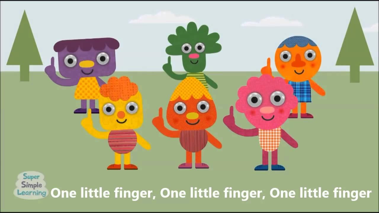 . Finger clipart one little finger