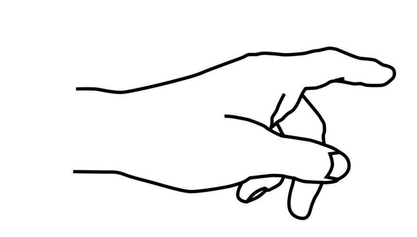 collection of hand. Steampunk clipart finger point