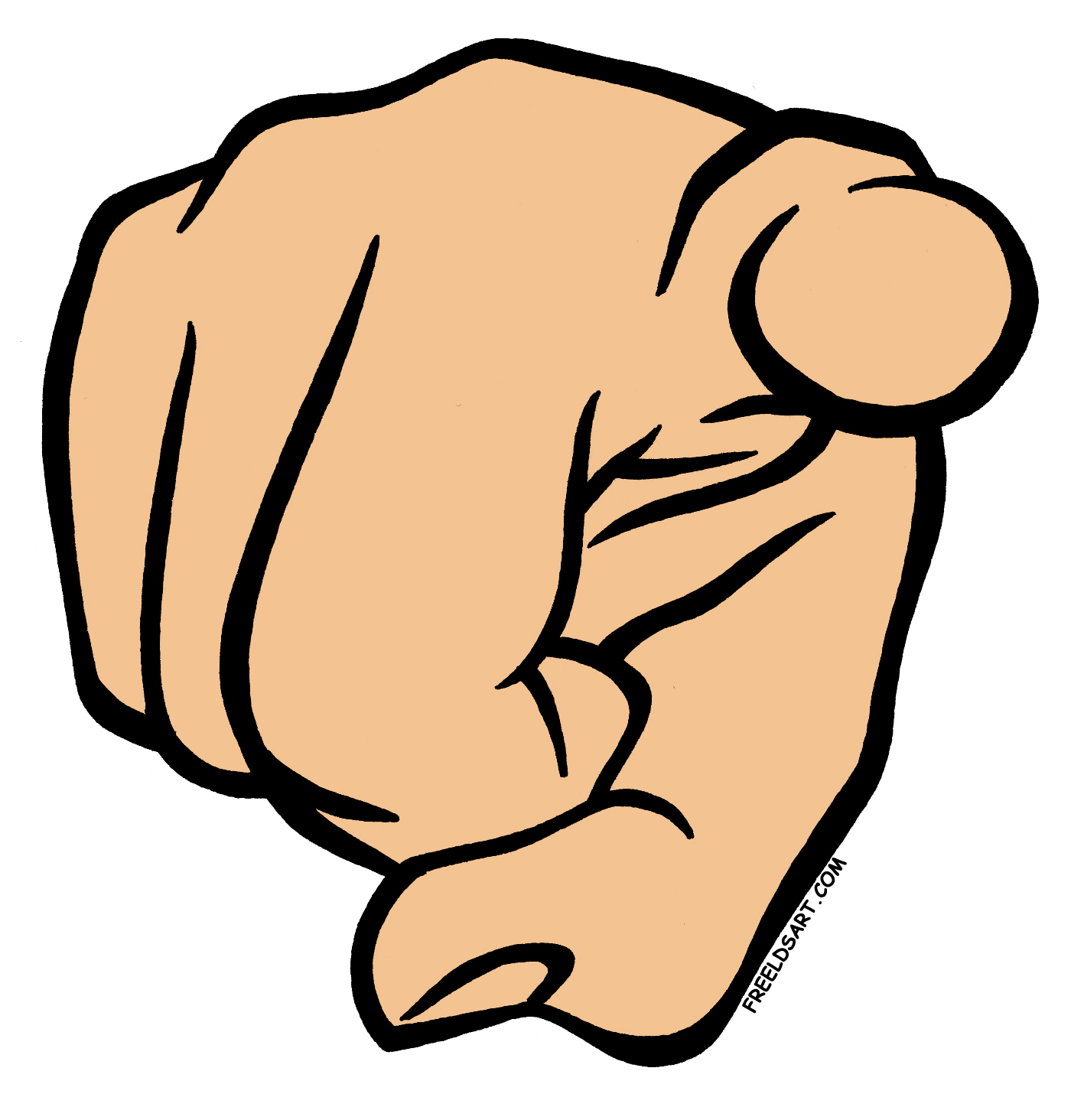 Free pointing finger cliparts. Fingers clipart pointy