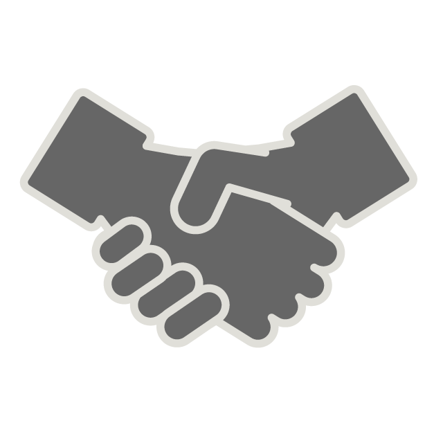 Handshake clipart buisness. Promise free icon material