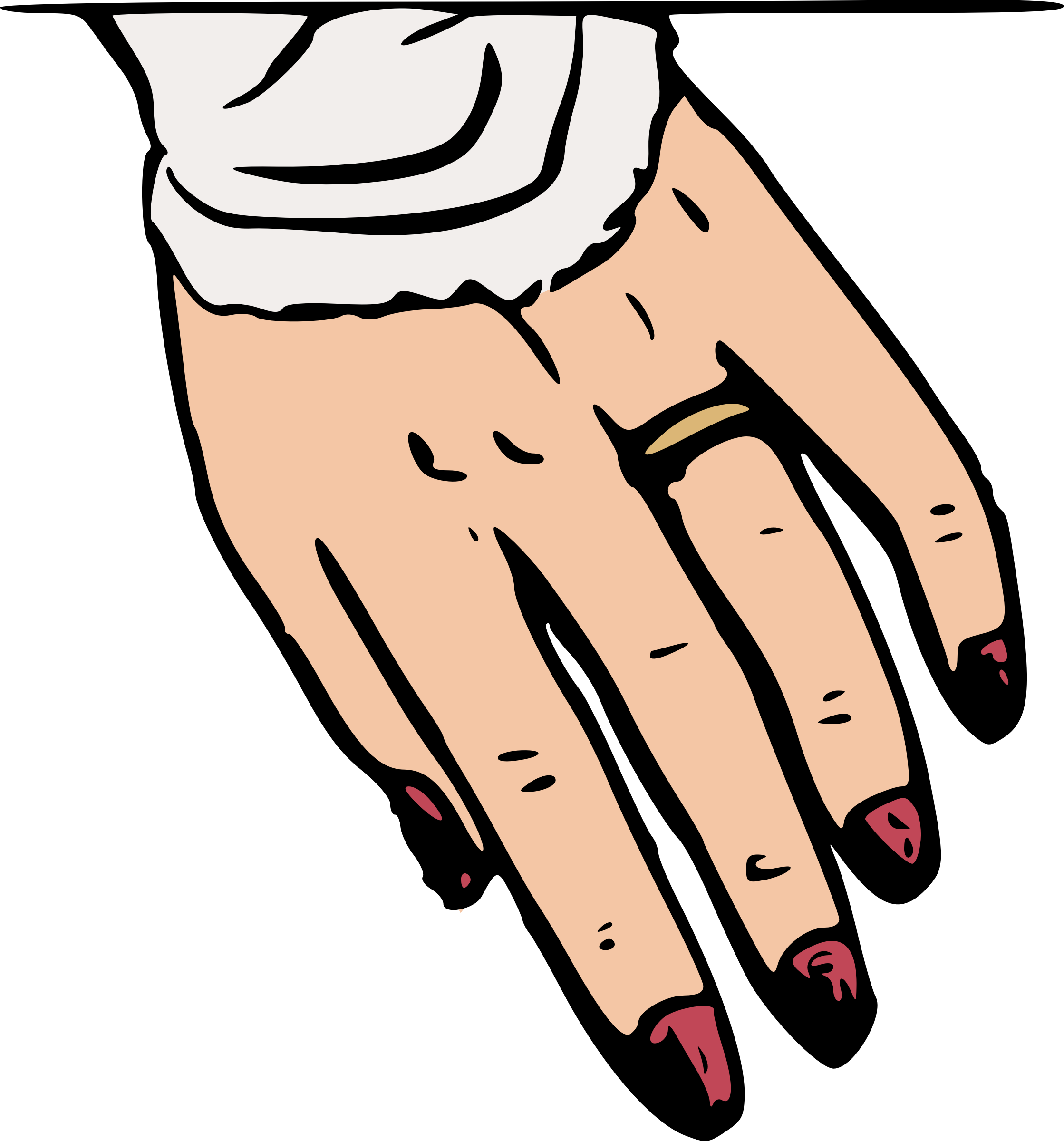 Fingers clipart nice hand. Ring finger big image