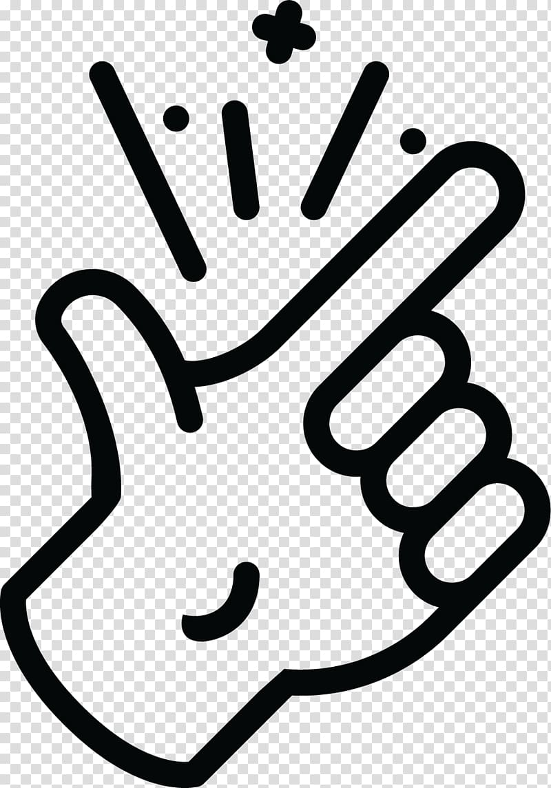 Finger snapping index hand. Fingers clipart snap