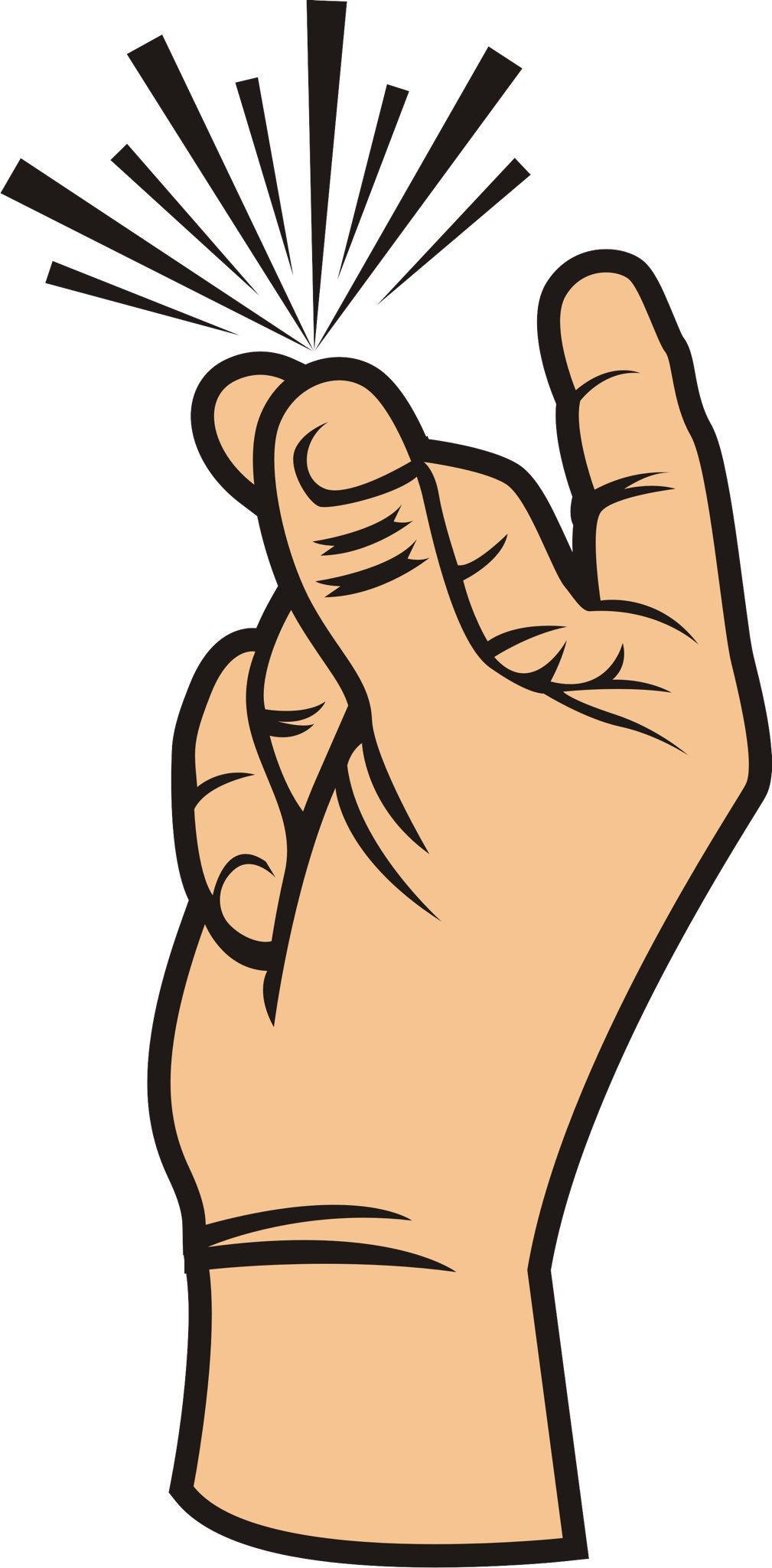 Finger orange x free. Fingers clipart snap